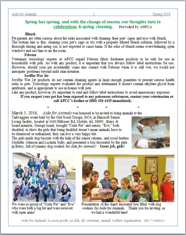 Spring 2016 Page 2