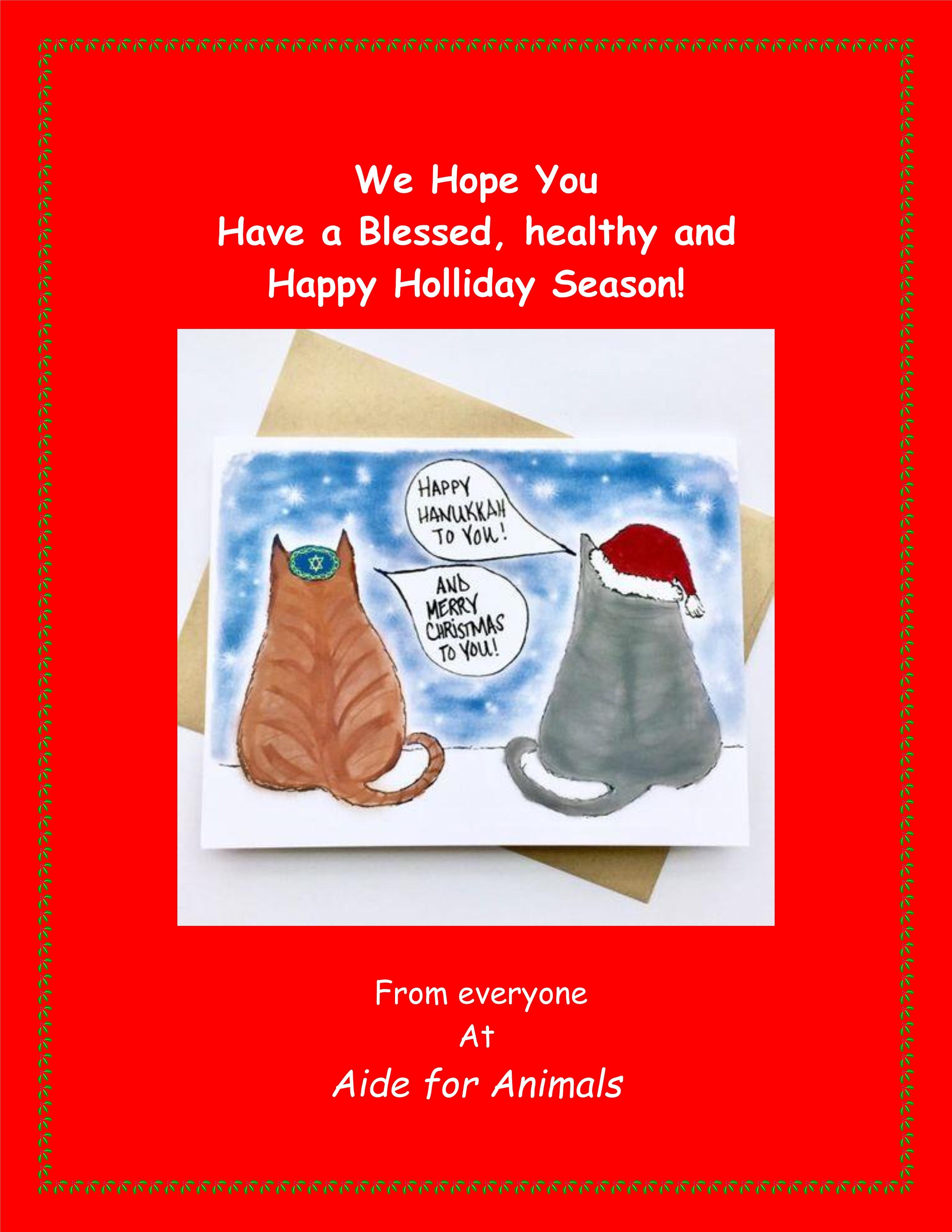 Merry Christmas & Happy Hanukkah